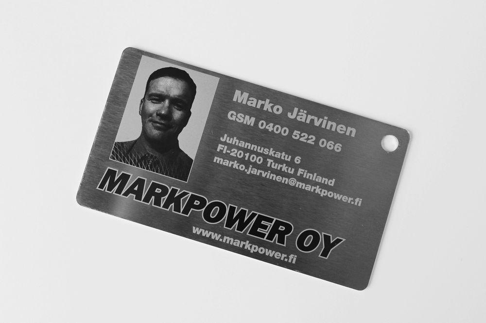 Alumiini- ja teräskortit, muillekin kuin